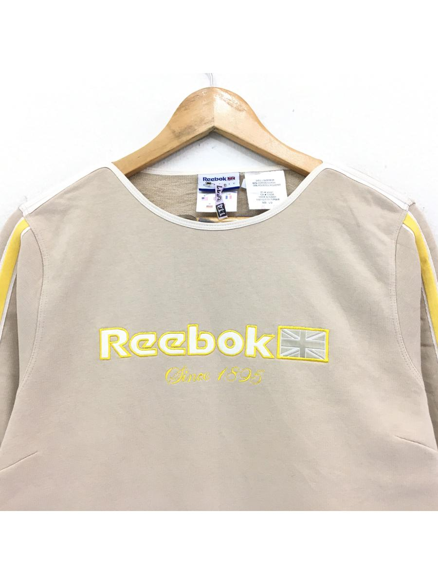 Vintage Reebok Sweatshirt Streetwear big logo embroided spellout pullover