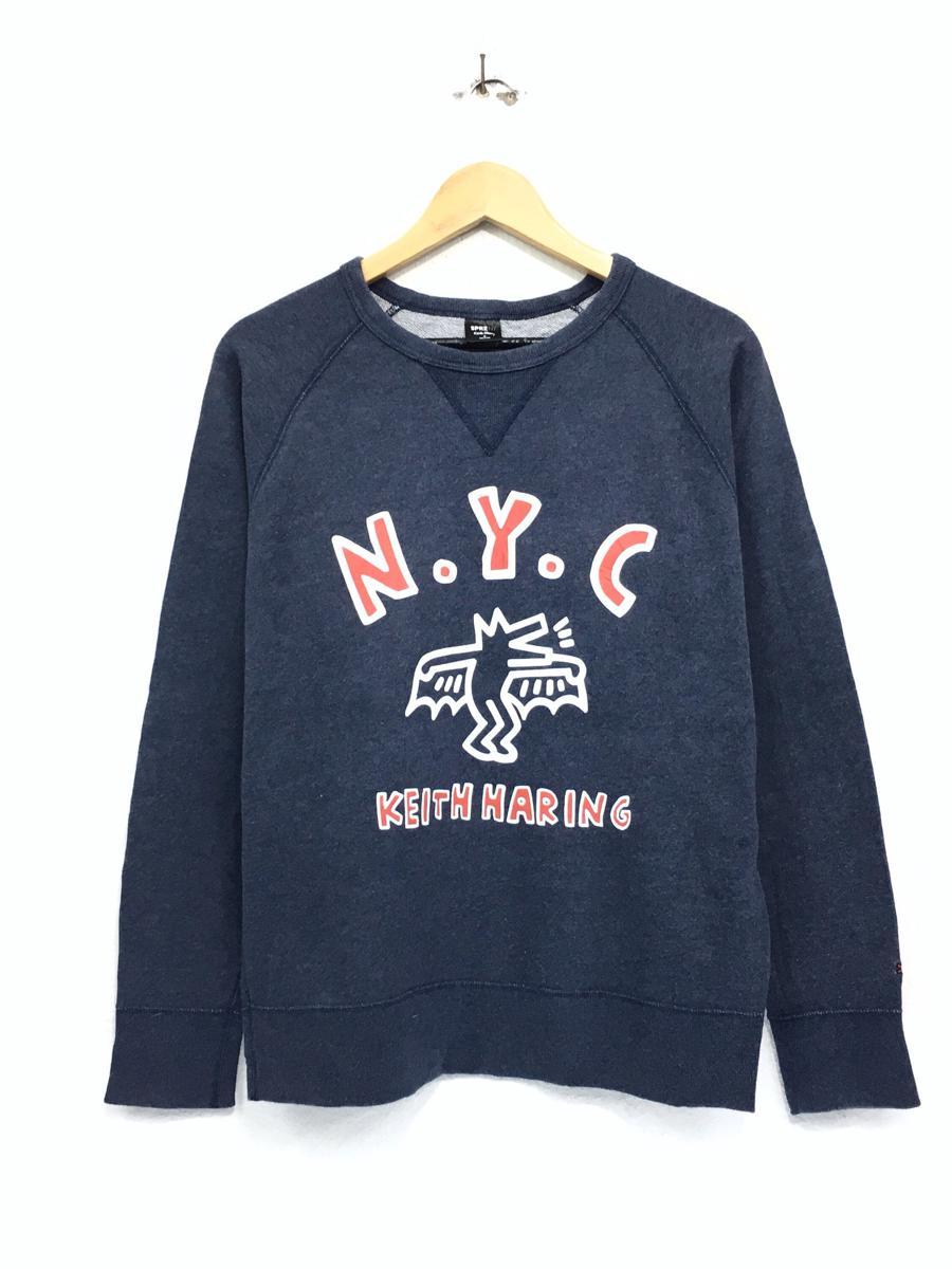 Keith Haring Sweatshirt Biglogo spellout sweatshirt pullover vintage men