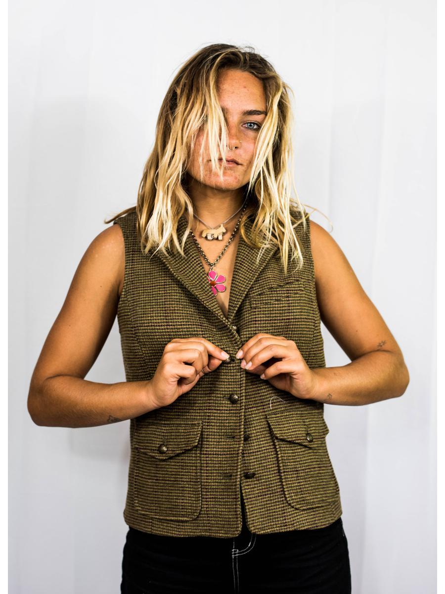 VINTAGE Fisher Zip Vest