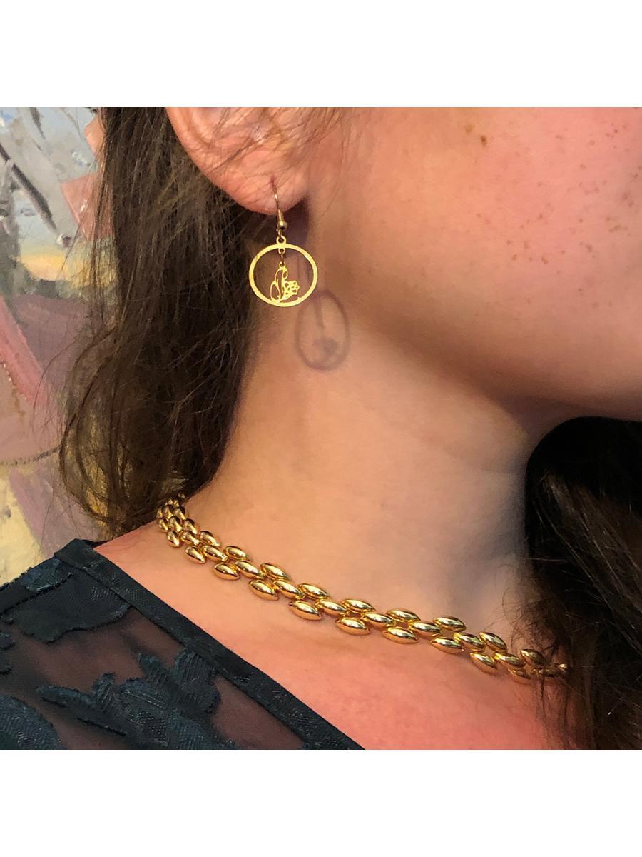 Vintage Madonna Earrings