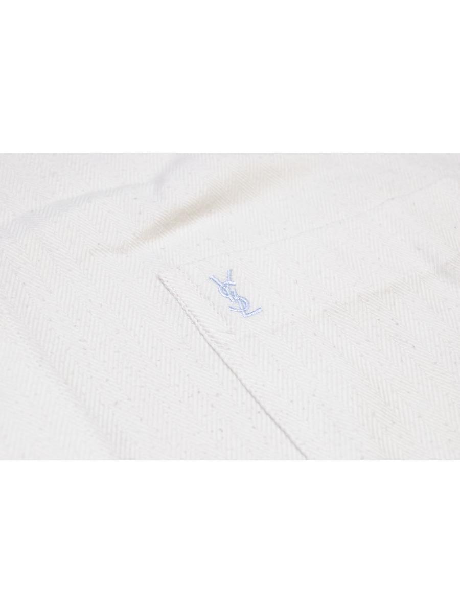 vintage YVES SAINT LAURENT Shirt short sleeve mens authentic
