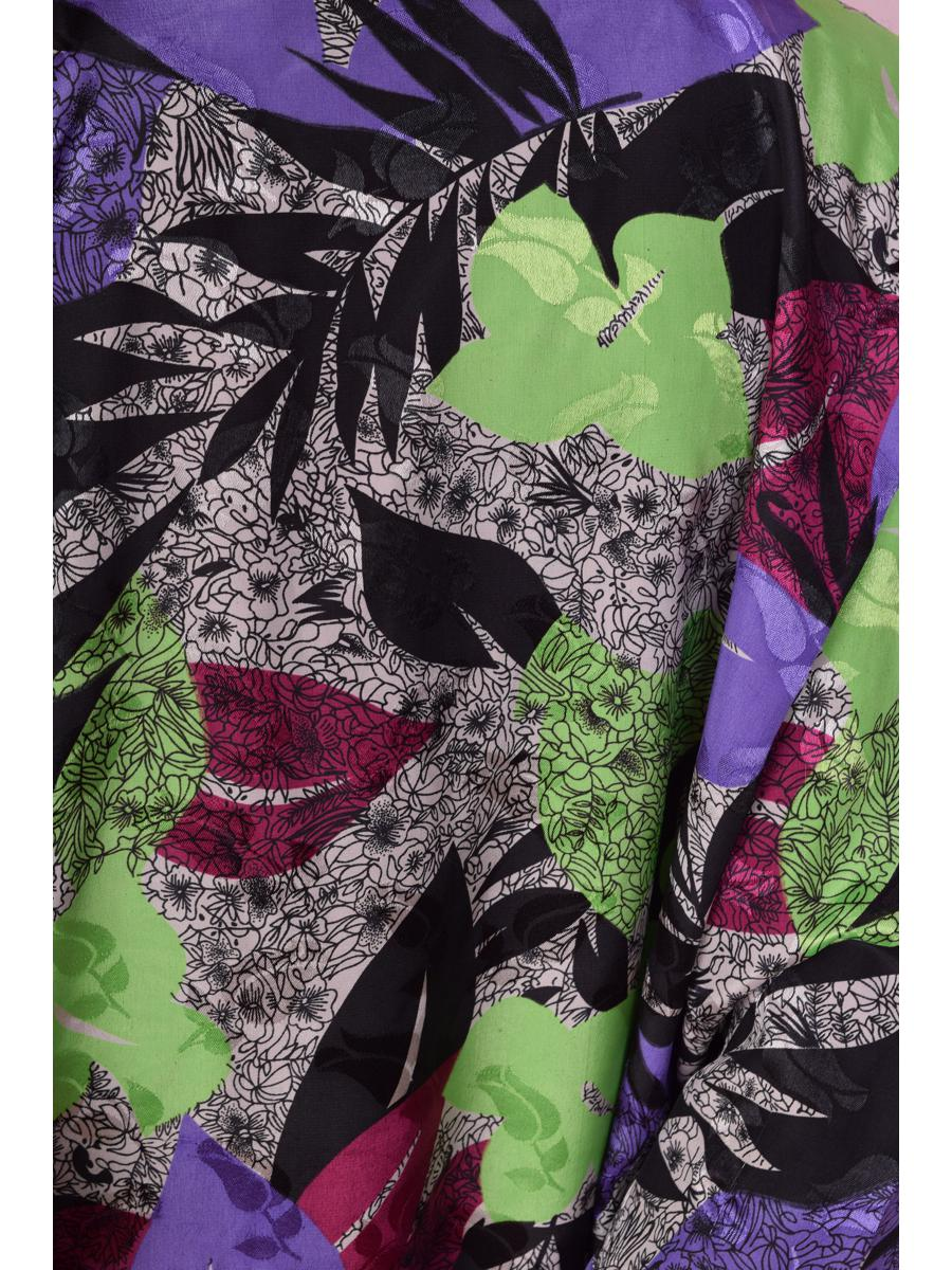 80s 90s Floral Print Lightweight Jacket/