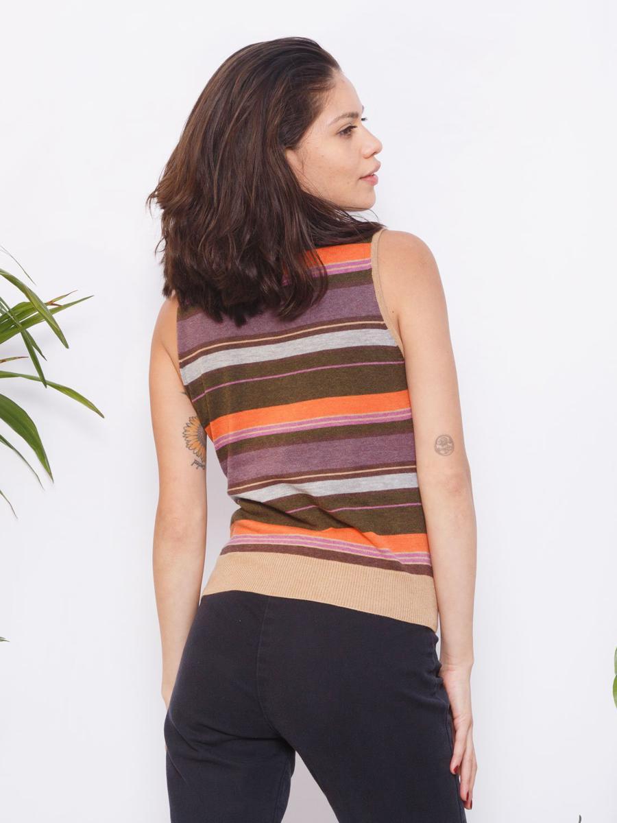 Vintage Sleeveless Turtleneck Sweater