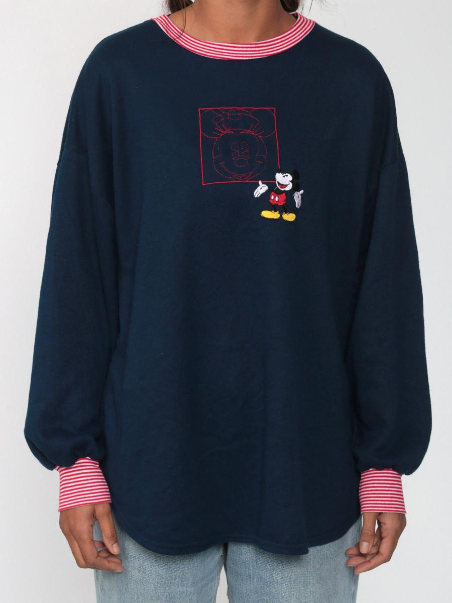 90s Walt Disney Shirt -- Mickey Mouse Shirt 80s