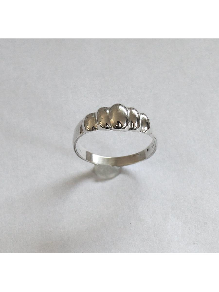 Bubble Ring, Vintage Rounded Ring, Sterling Silver Ring, Marked
