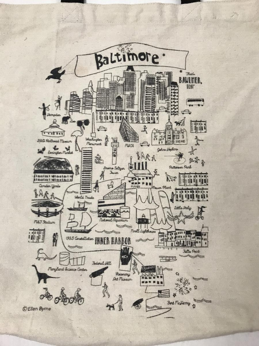 Baltimore Tote Bag