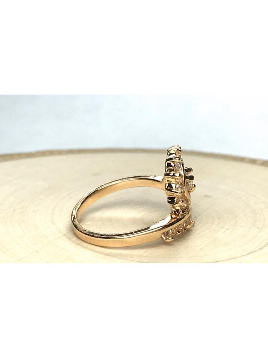 Clear Cubic Zirconia Statement Ring