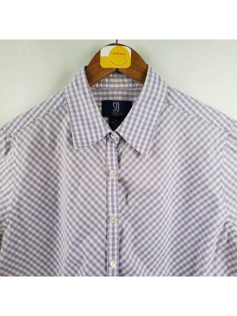 SO GSJC  Vintage Button Down Shirt Womens Sz