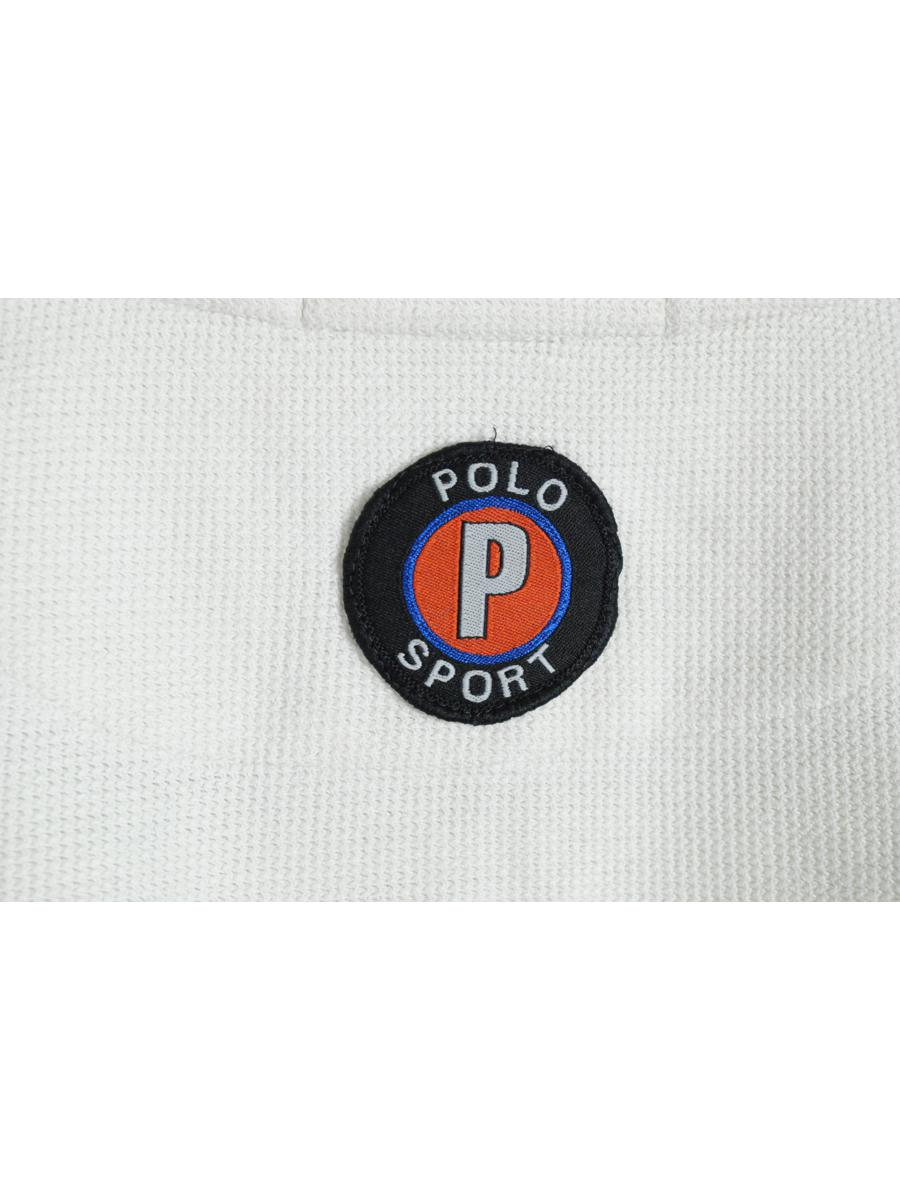 vintage POLO SPORT by Ralph Lauren 1/4 Sweatshirt white