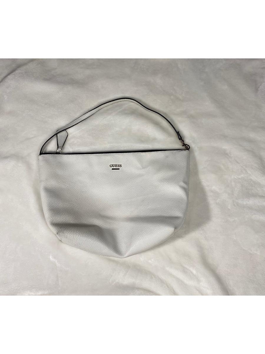 VINTAGE White GUESS Purse - Shoulder Bag