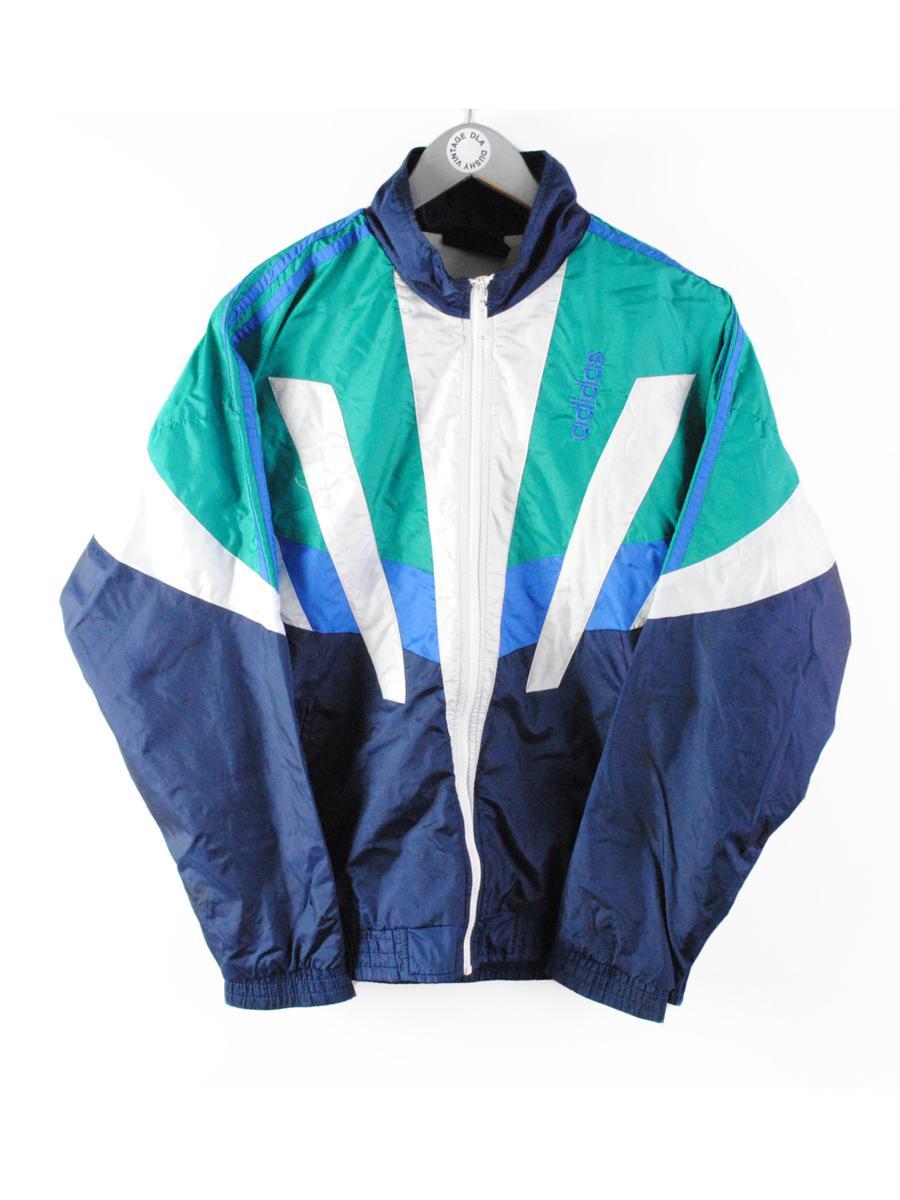 vintage ADIDAS ORIGINALS men's track jacket
