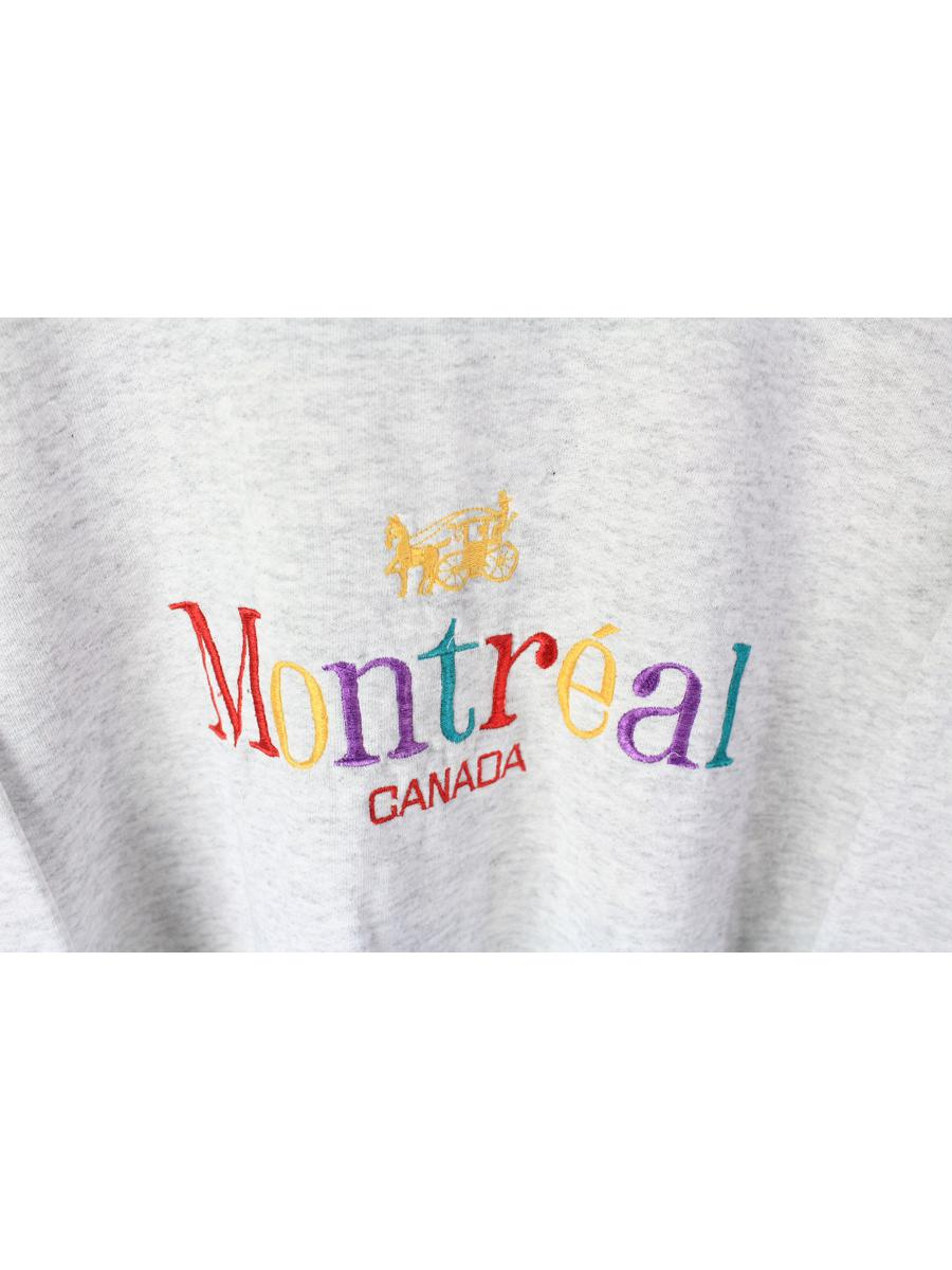 vintage MONTREAL Canada sweatshirt authentic rare retro