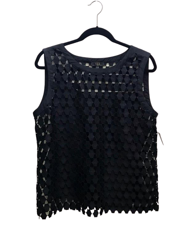 Black Patterned Tank