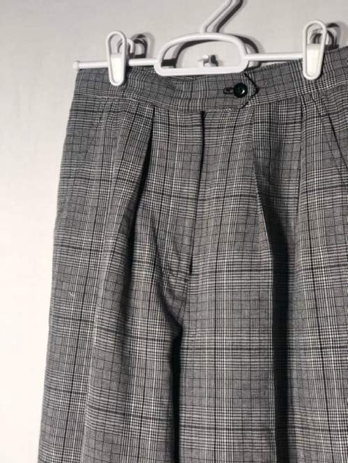 Plaid Relaxed Pants