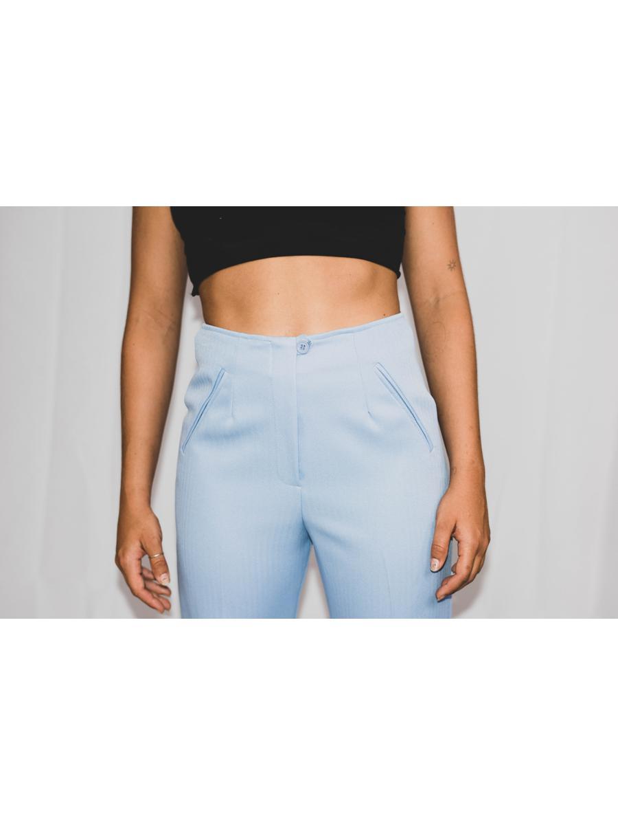 VINTAGE little blue pant
