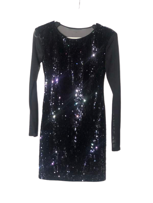 Sequined Formal Dress