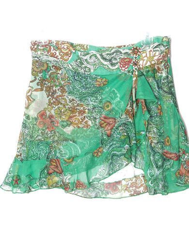 Y2K Floral Skirt Micro Mini Skirt 00s Mini Party