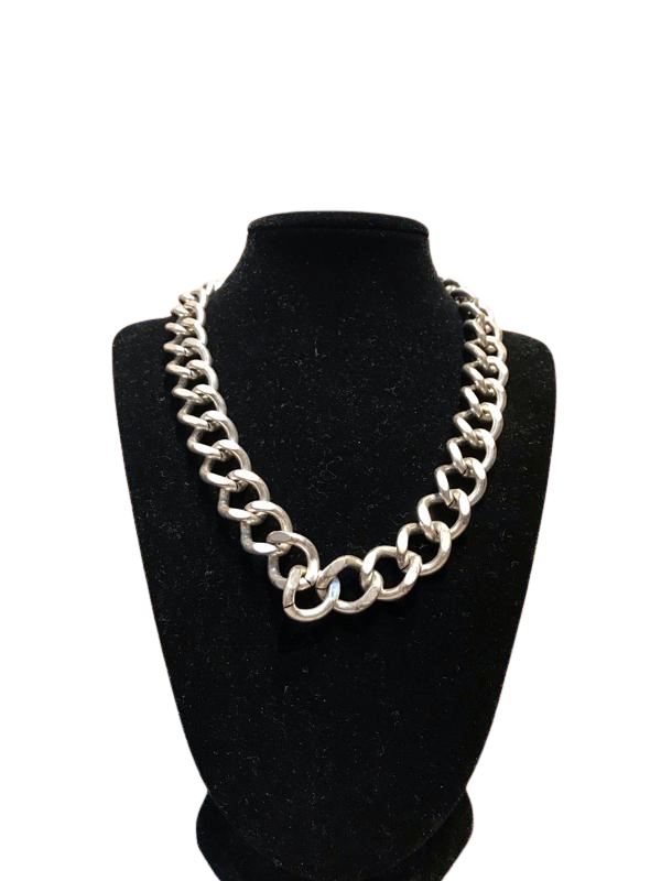 Sterling Silver Link Necklace